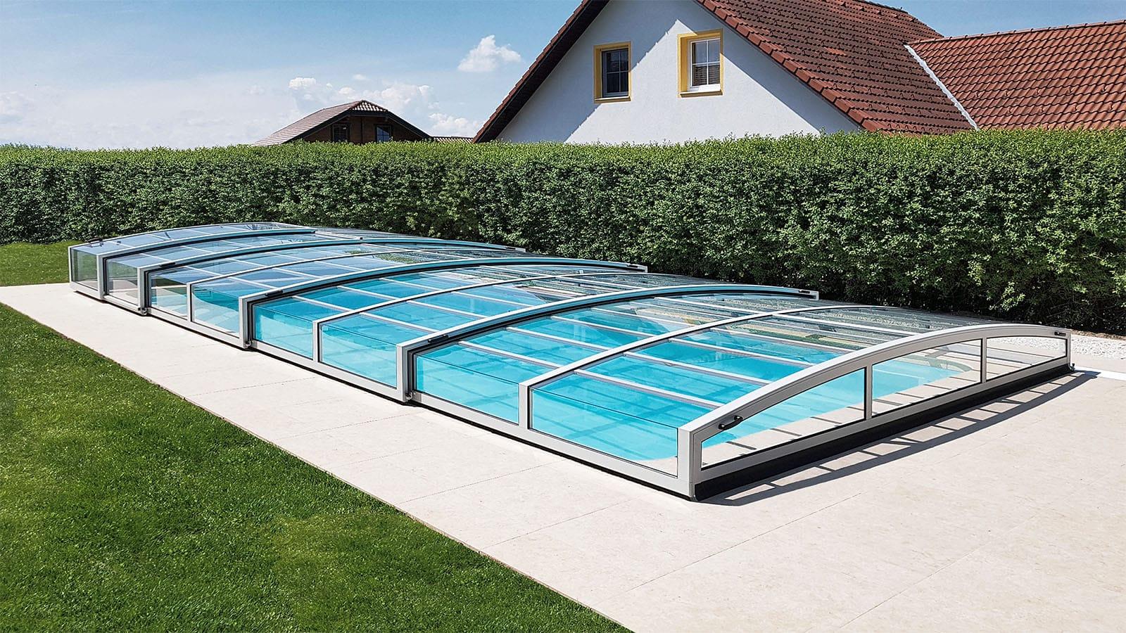 Bazénové zastřešení Living Selekt