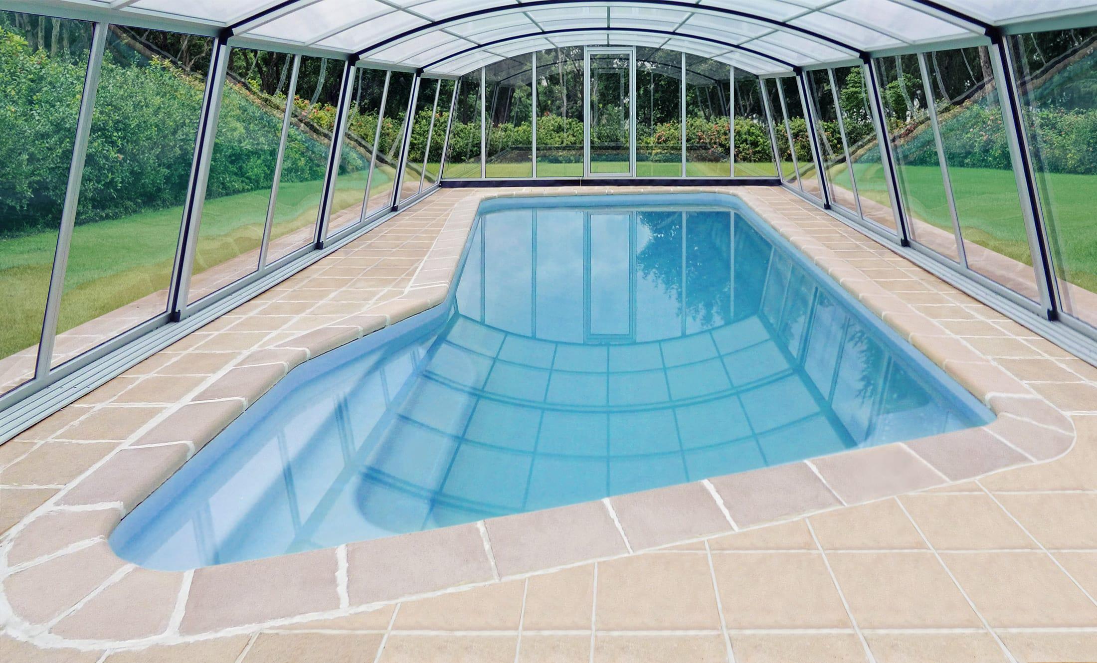 Zastřešení bazénů POPP komfort