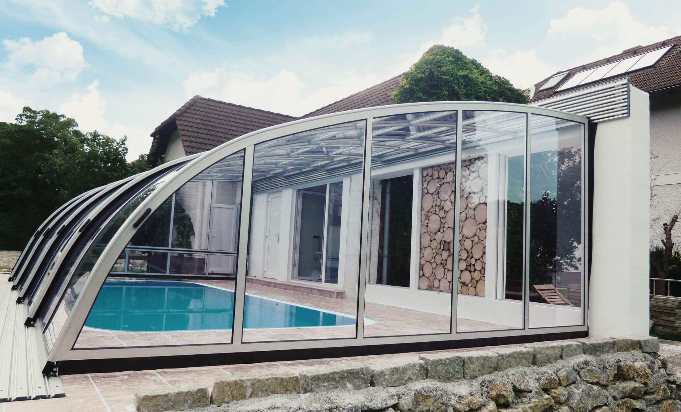 Zastřešení bazénů POPP Living Dynamik