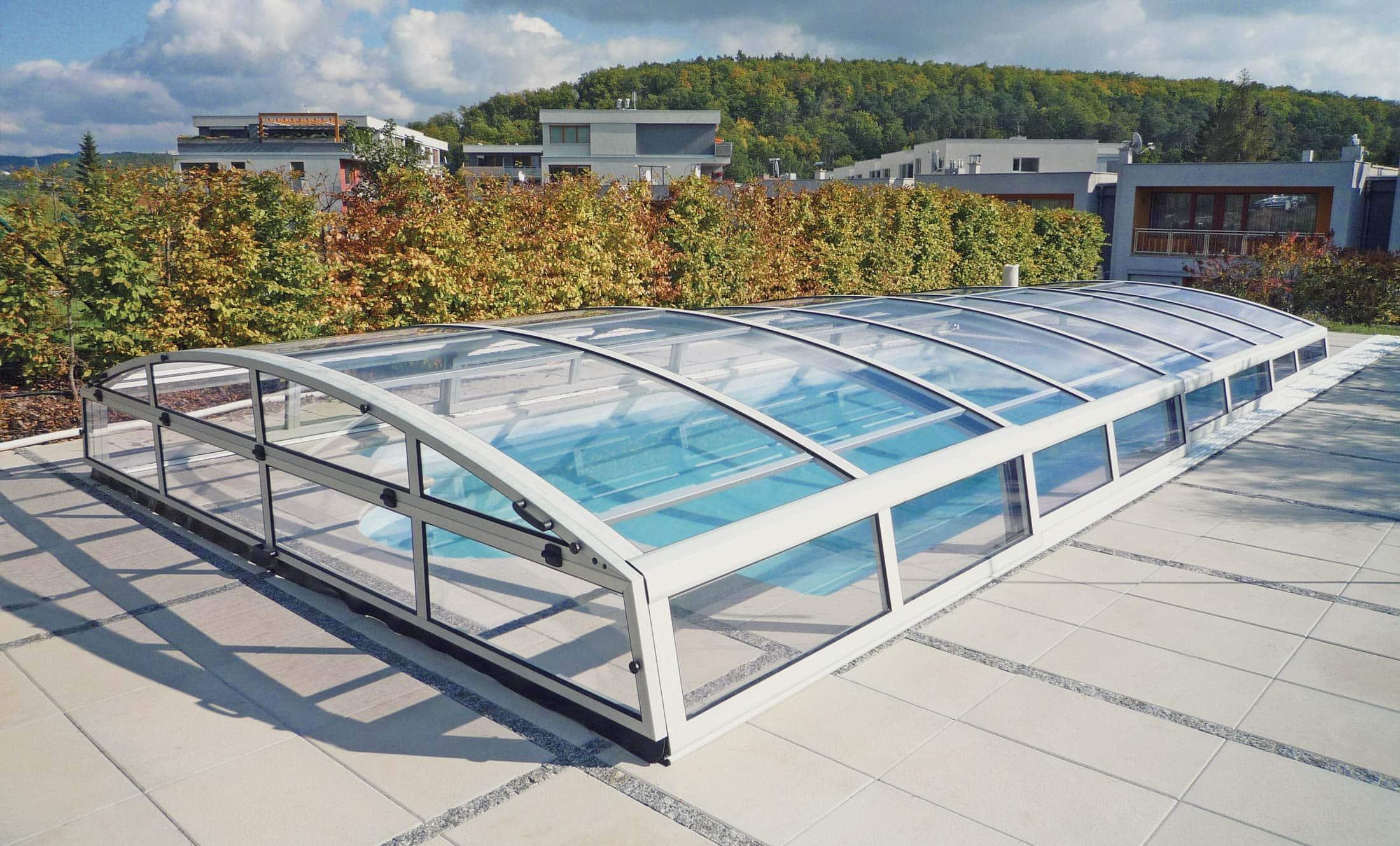 Zastřešení bazénu POPP elegant