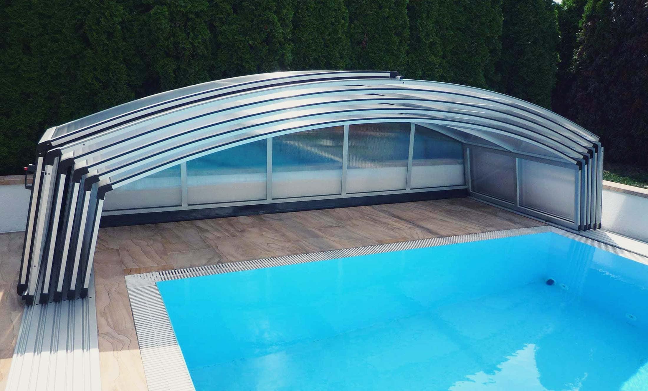Bazénové zastřešení POPP elegant