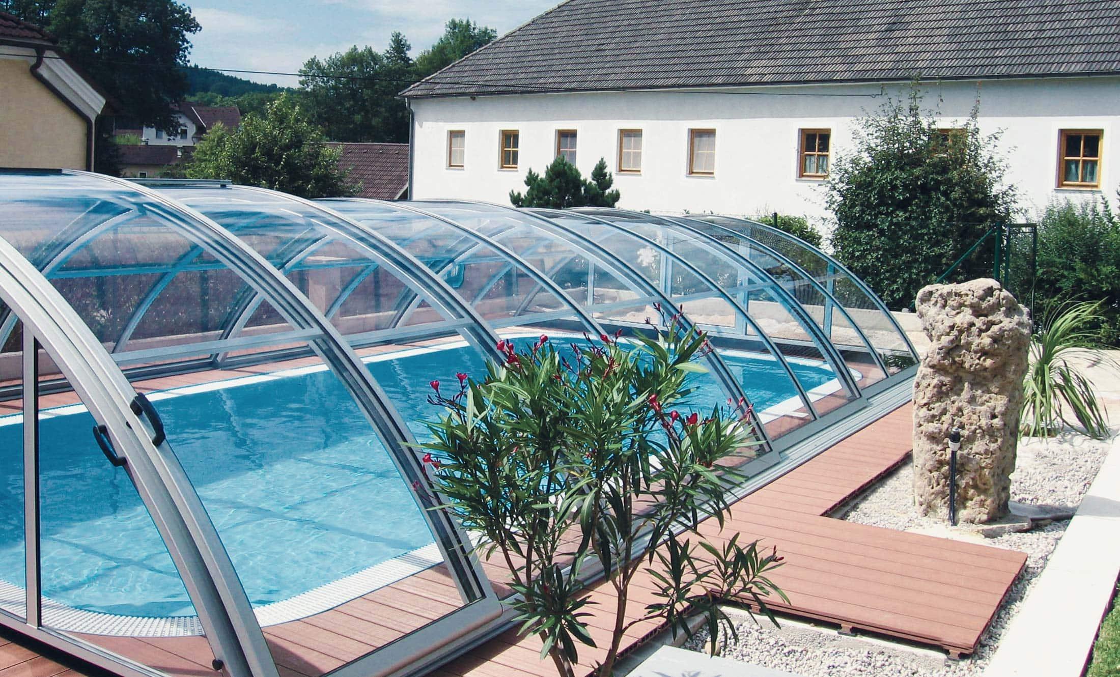 Zastřešení bazénu POPP klasik