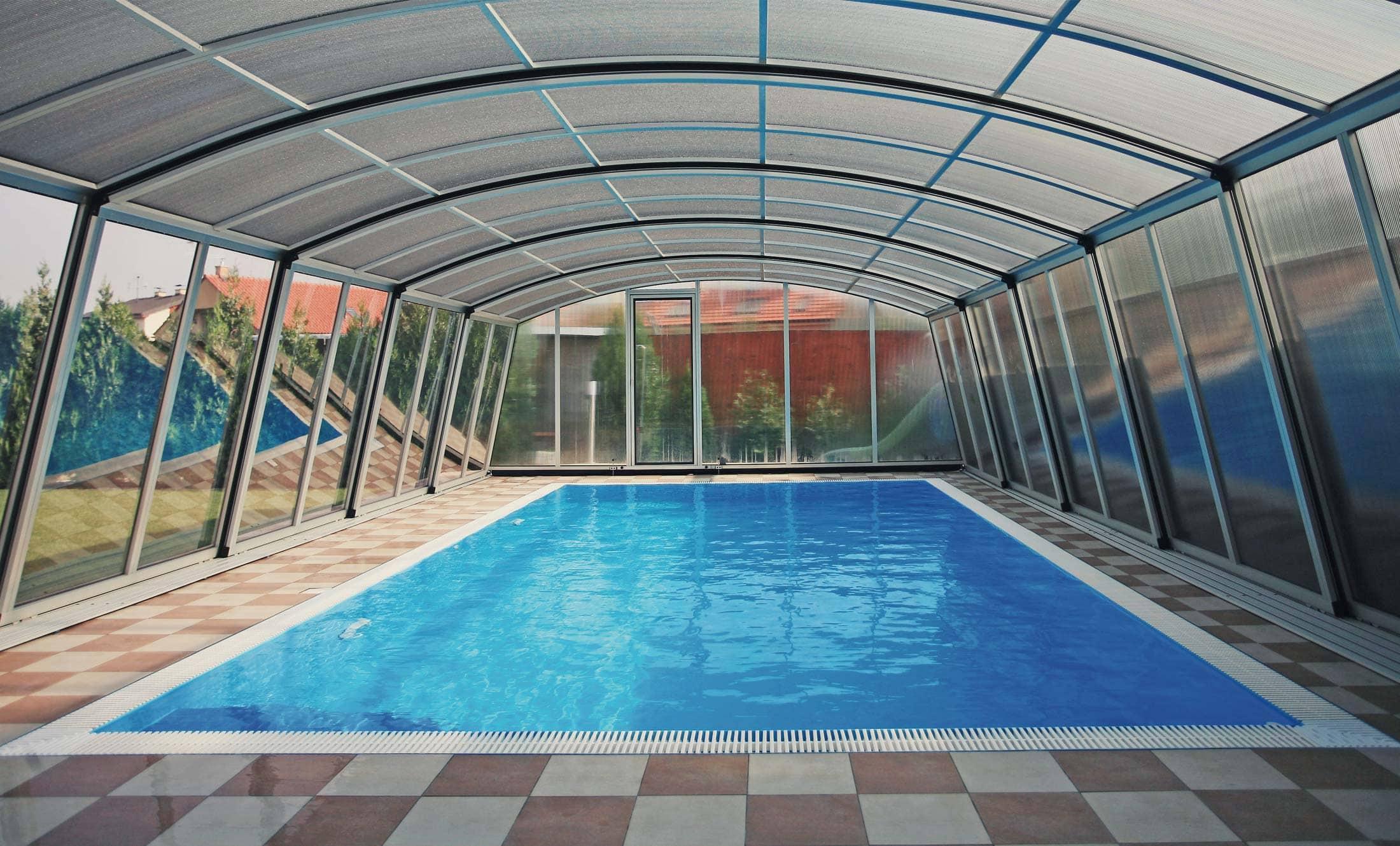 Bazénové zastřešení POPP komfort