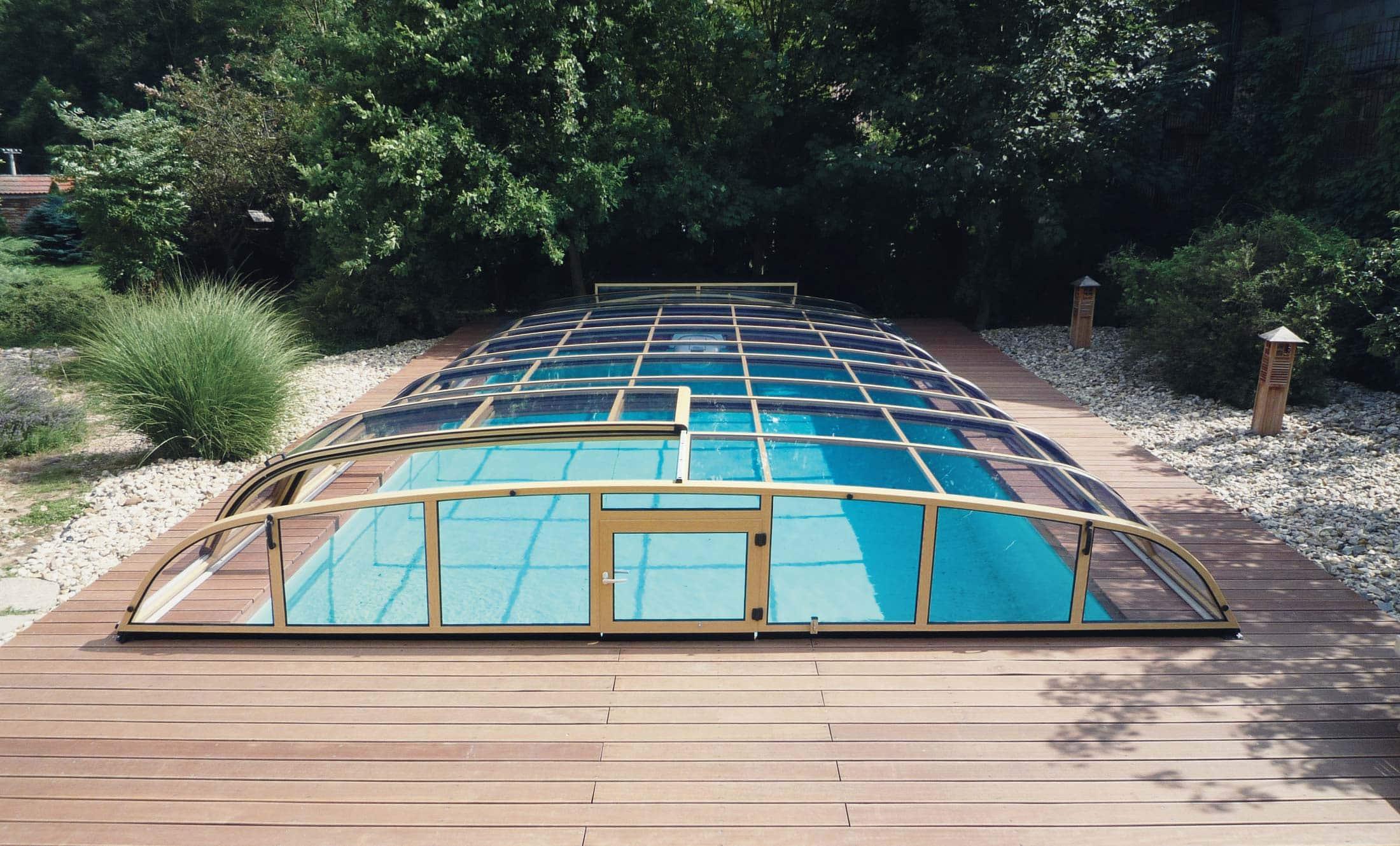 Bazénové zastřešení POPP perfekt
