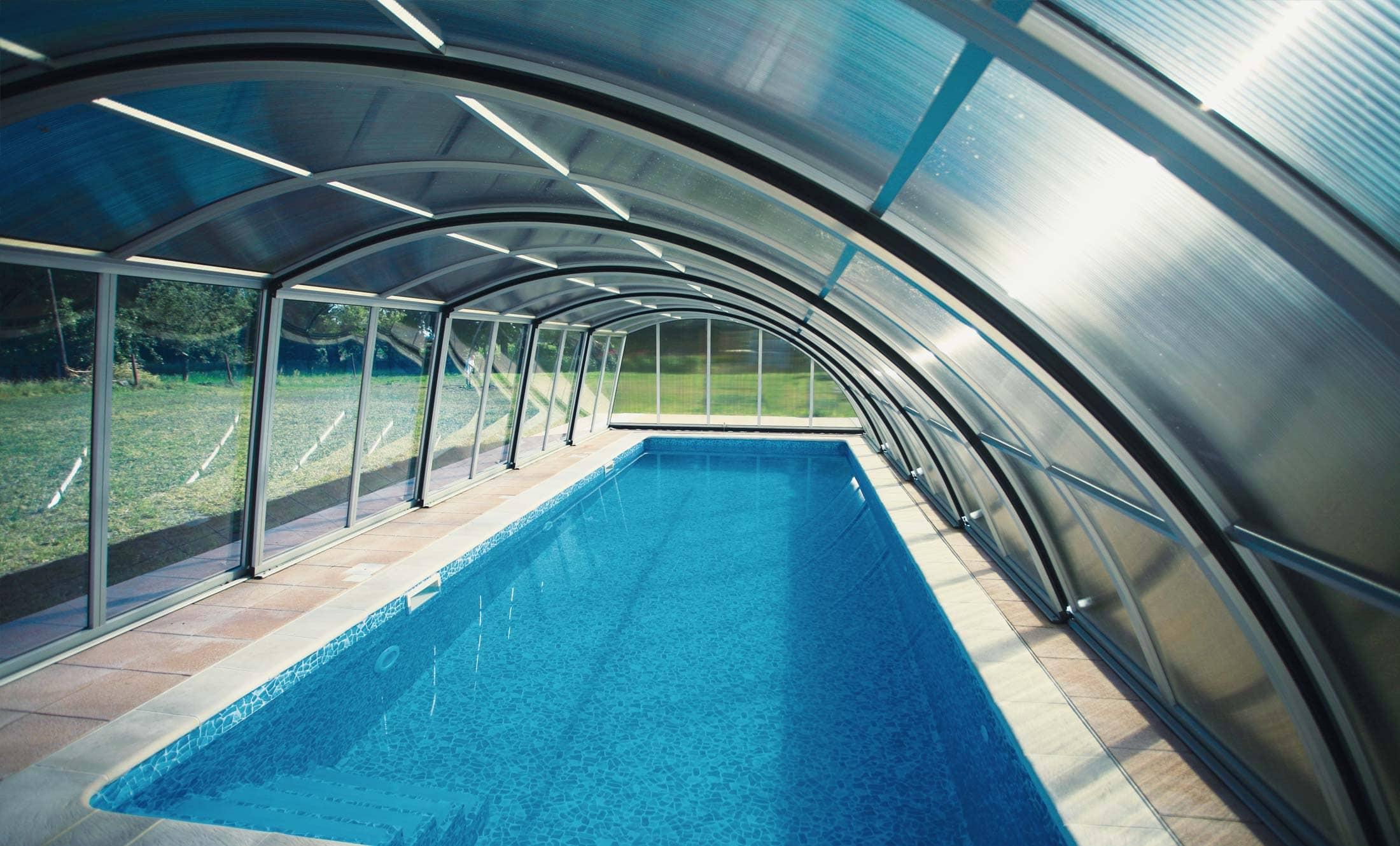Bazénové zastřešení POPP Living Akademie