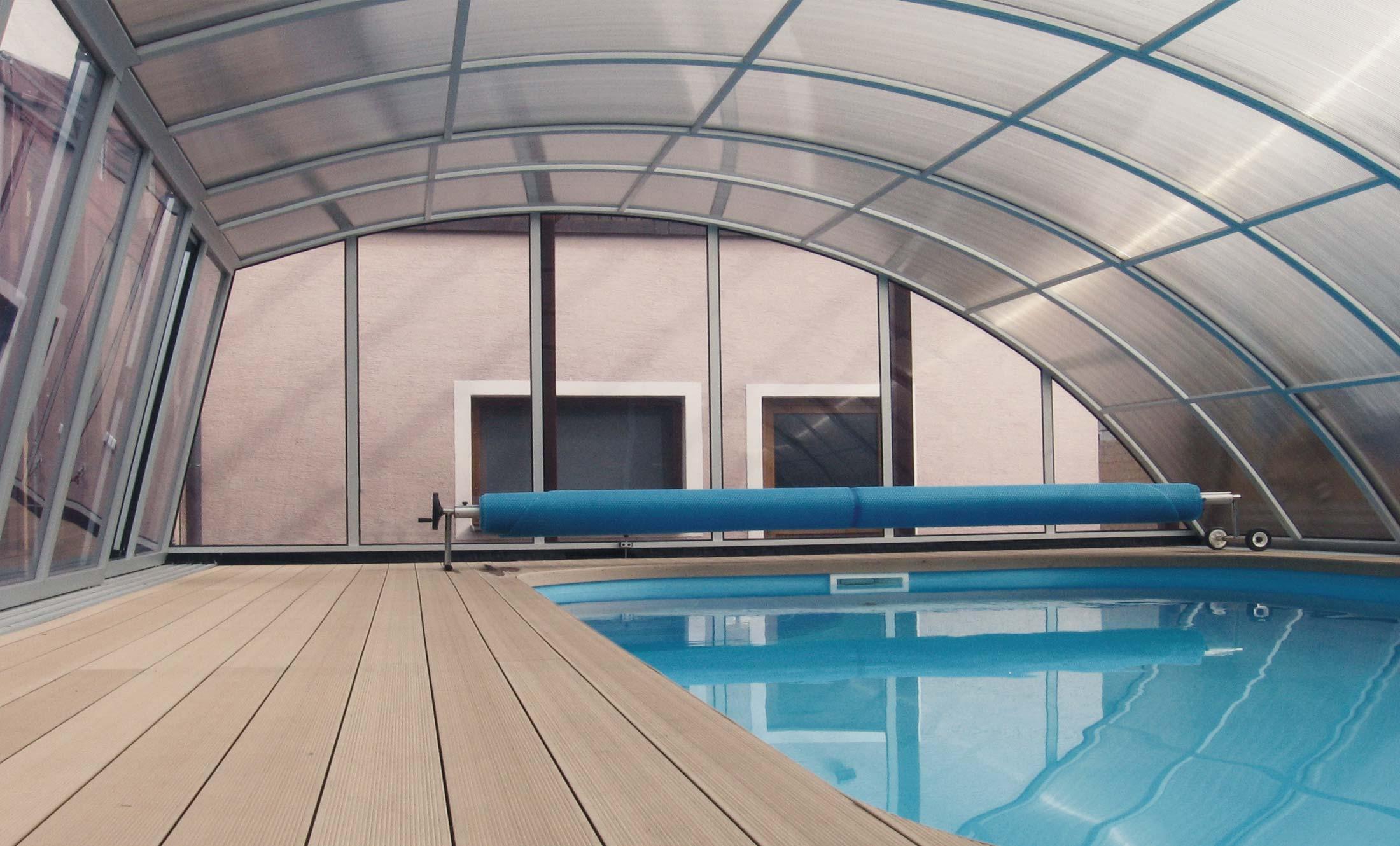Zastřešení bazénu POPP Living Akademie