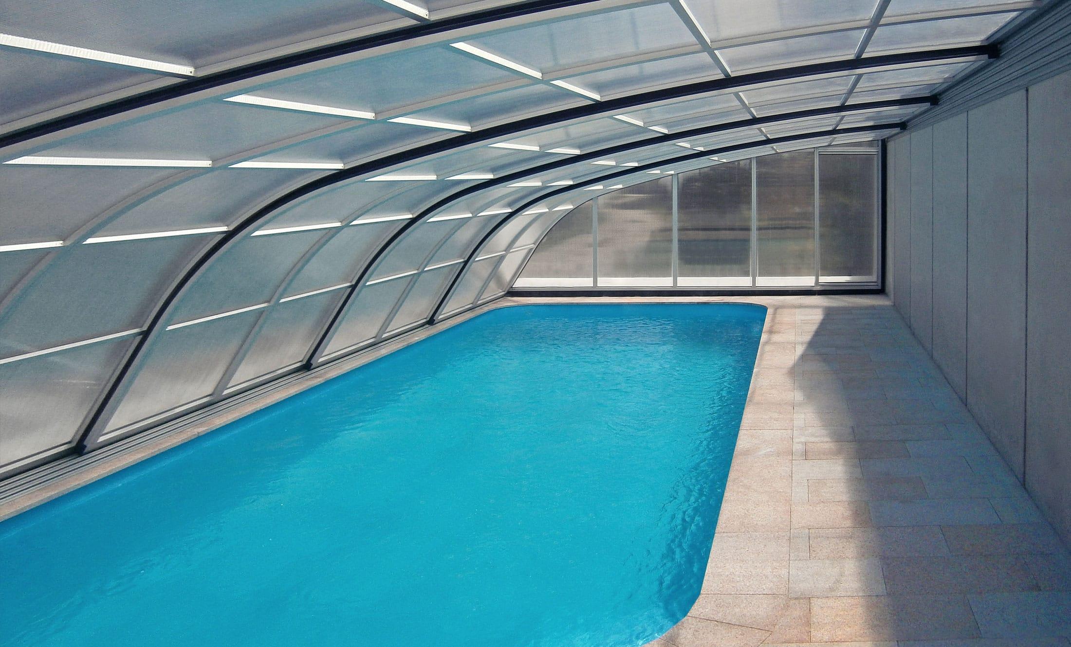 Bazénové zastřešení POPP Living Dynamik