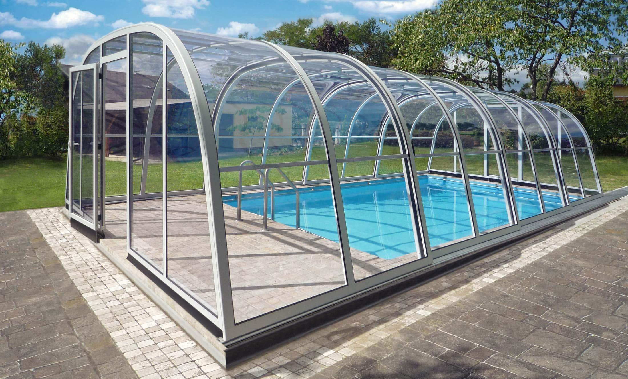 Zastřešení bazénů Living POPP Exklusiv