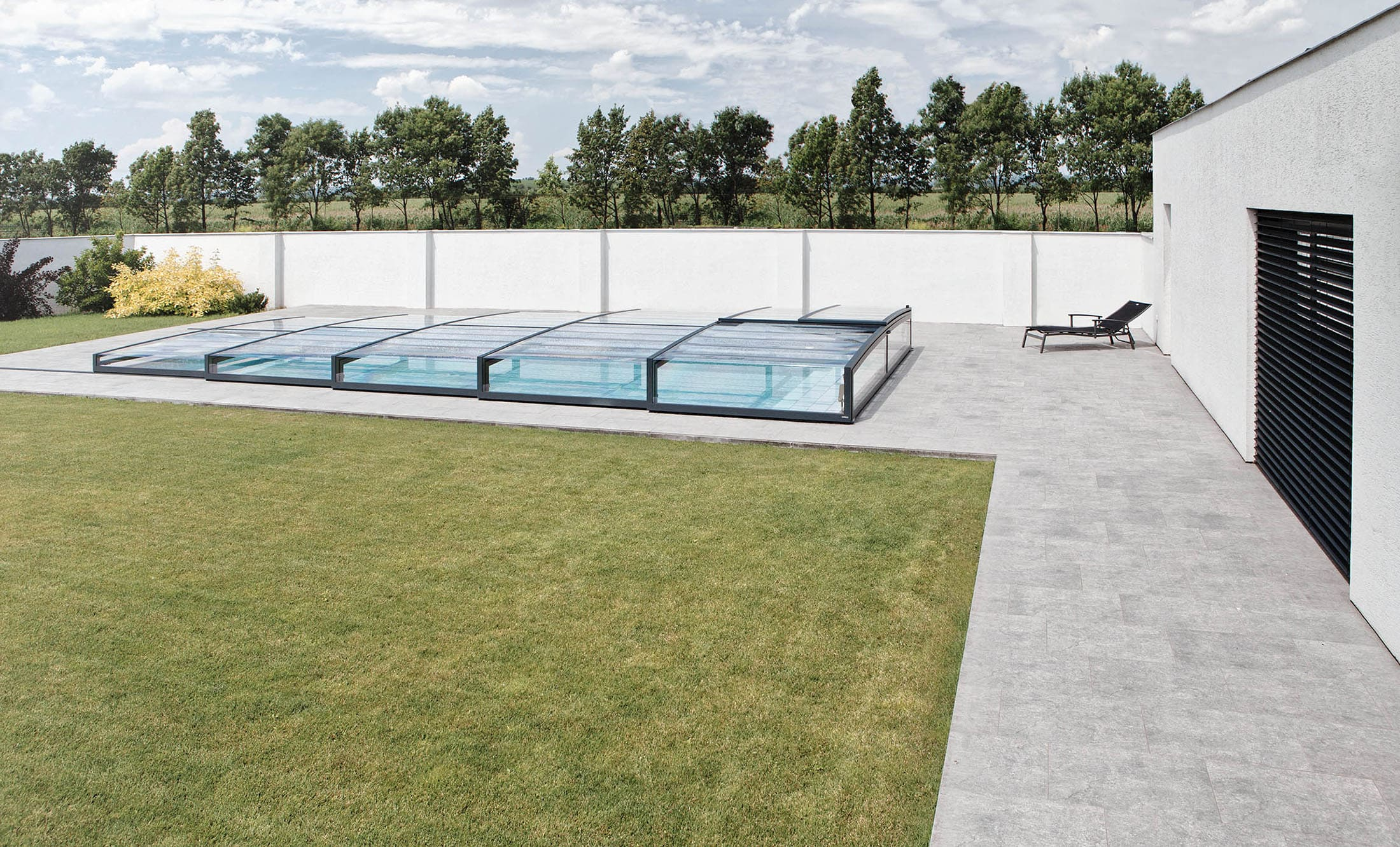 POPP Zastřešení bazénu Prestige P7