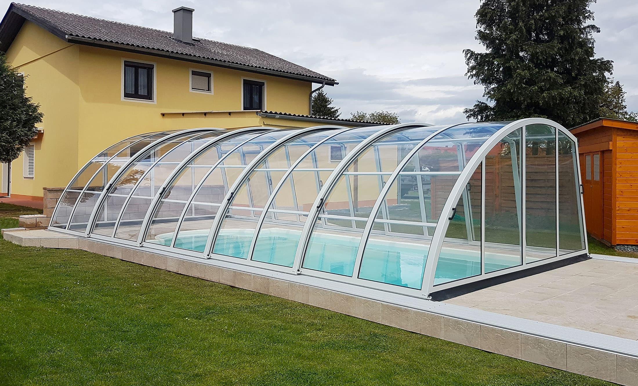 POPP Zastřešení bazénu Living Akademie