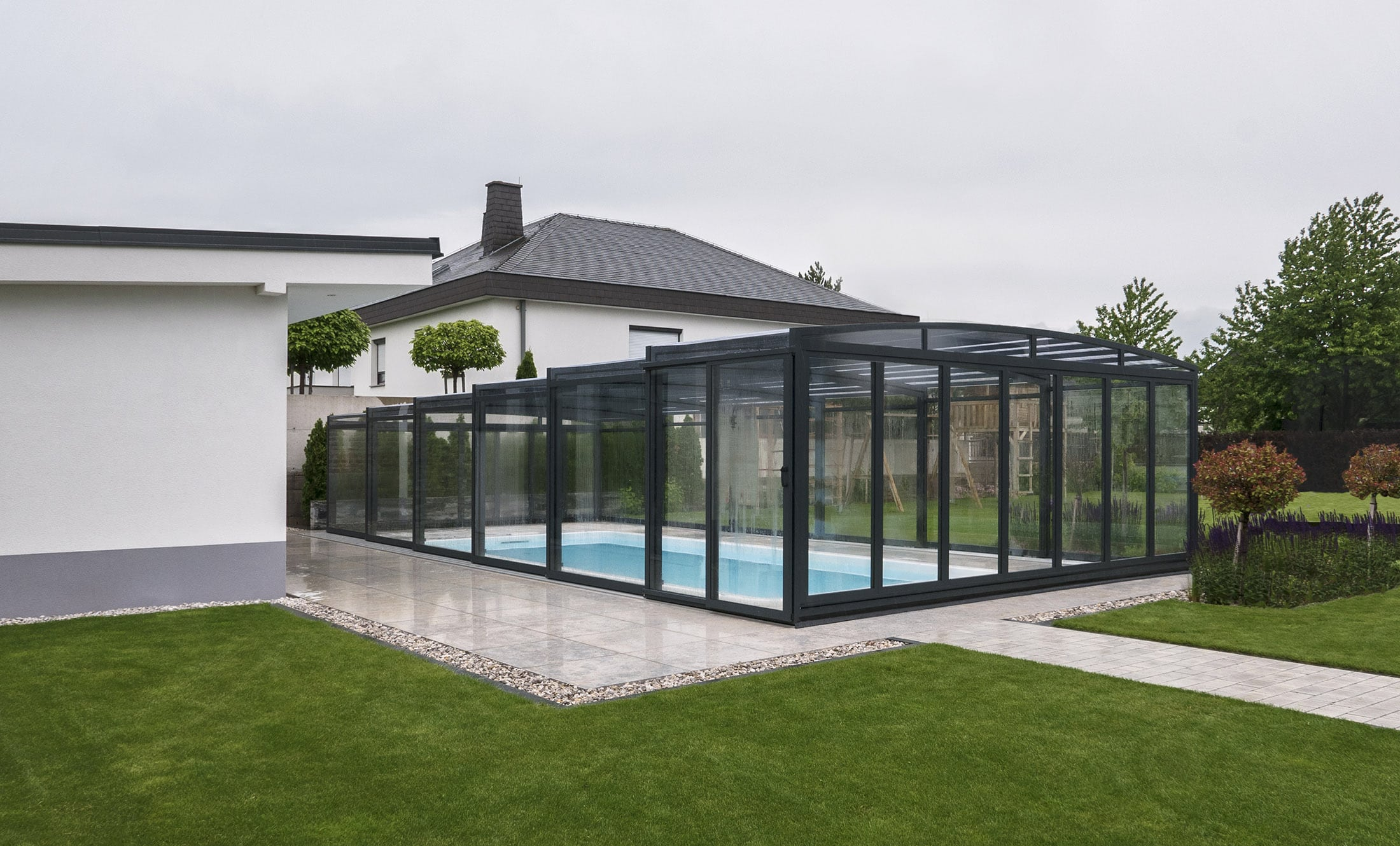 POPP Pool enclosures PRESTIGE P3