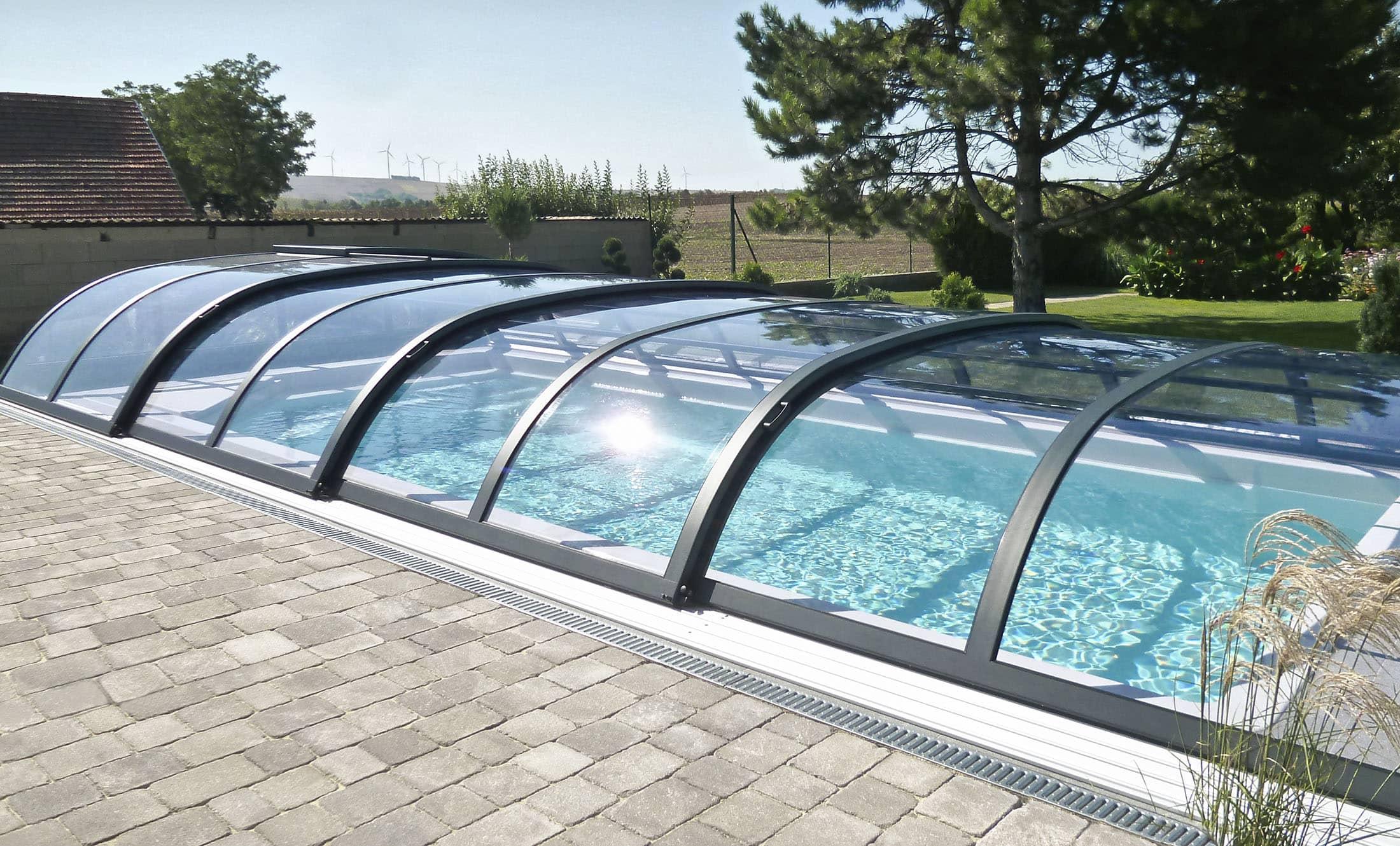 POPP Zastřešení bazénu Living Perfekt