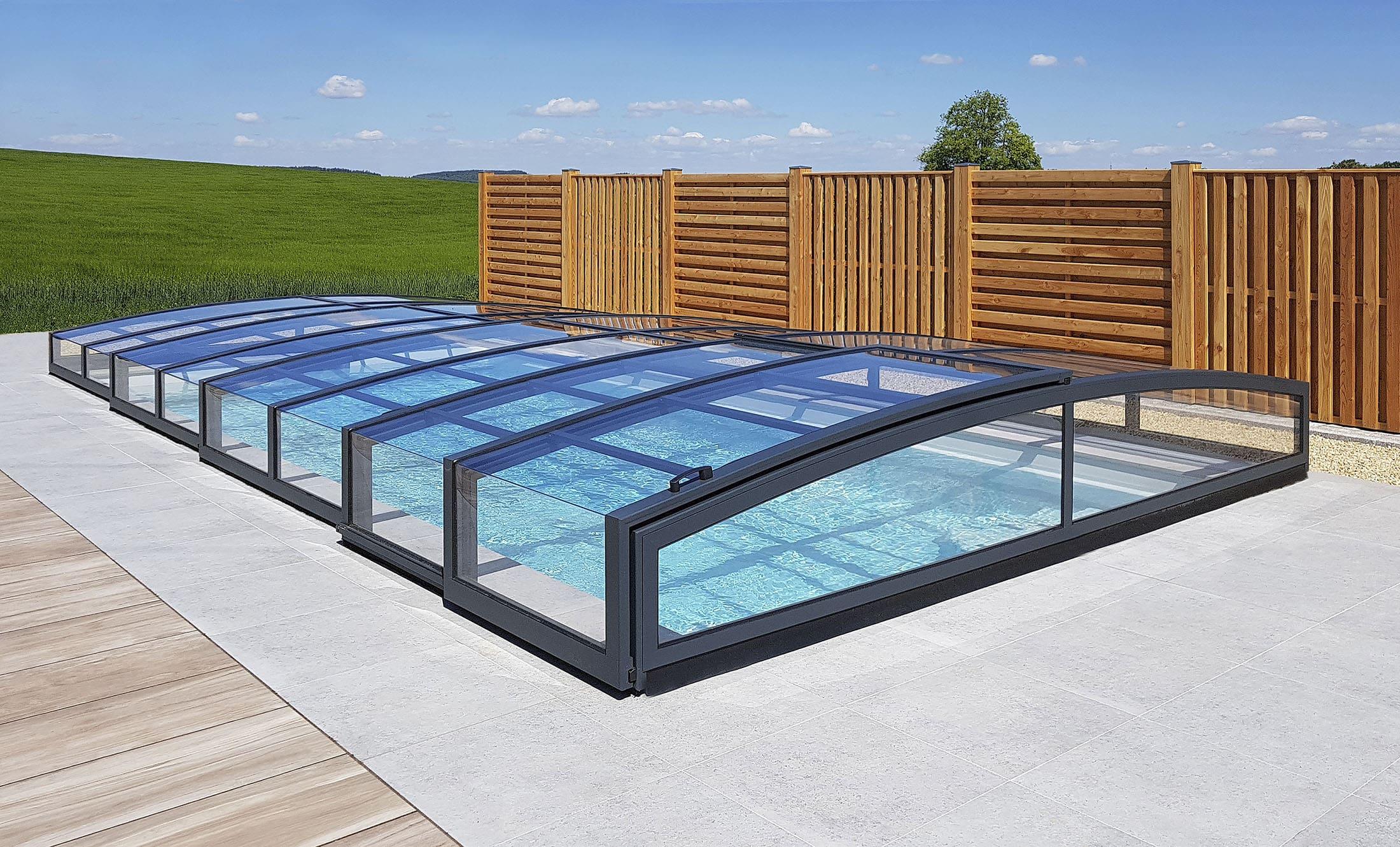 POPP Zastřešení bazénu Living Selekt