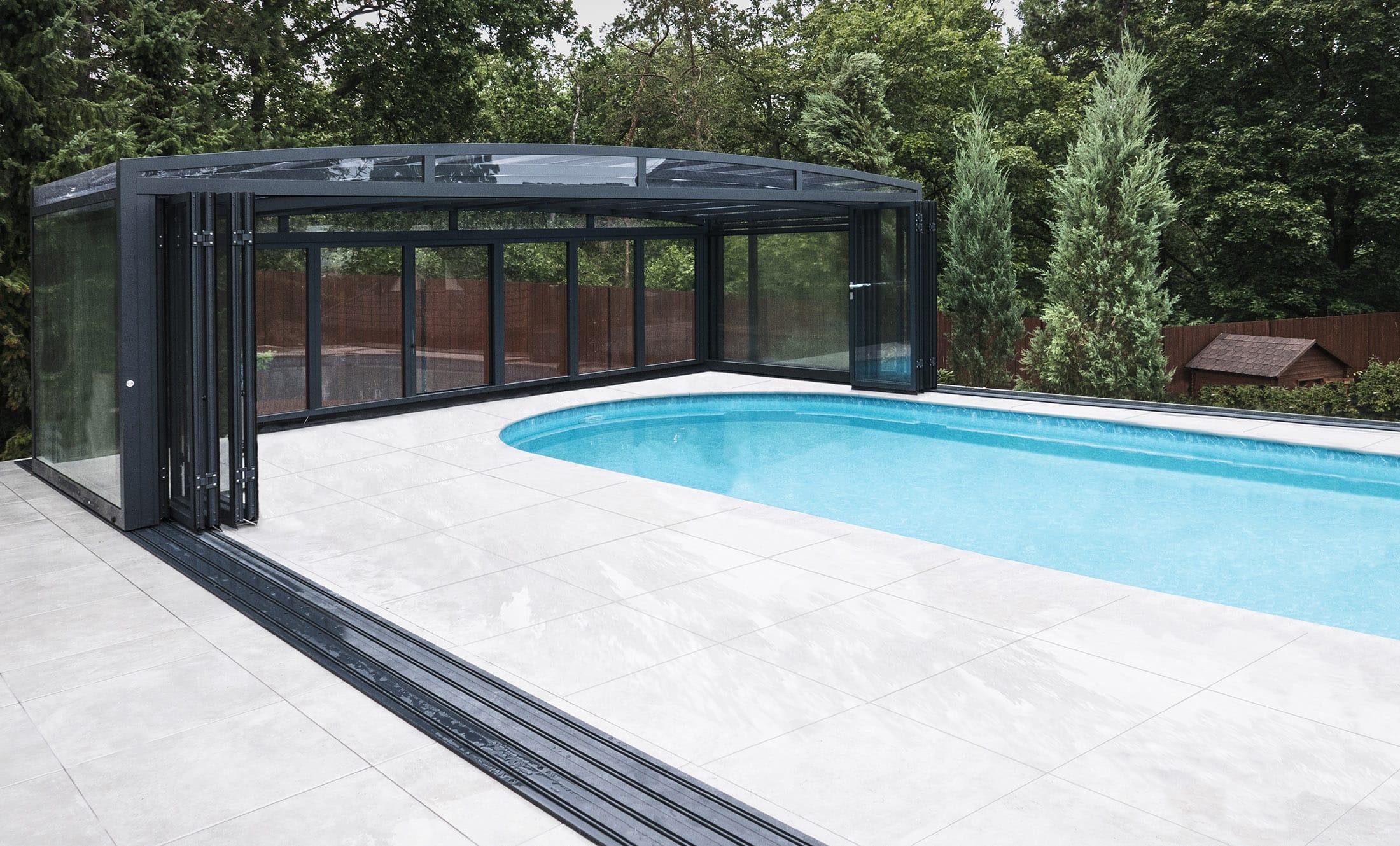 POPP Zastřešení bazénu Prestige P4