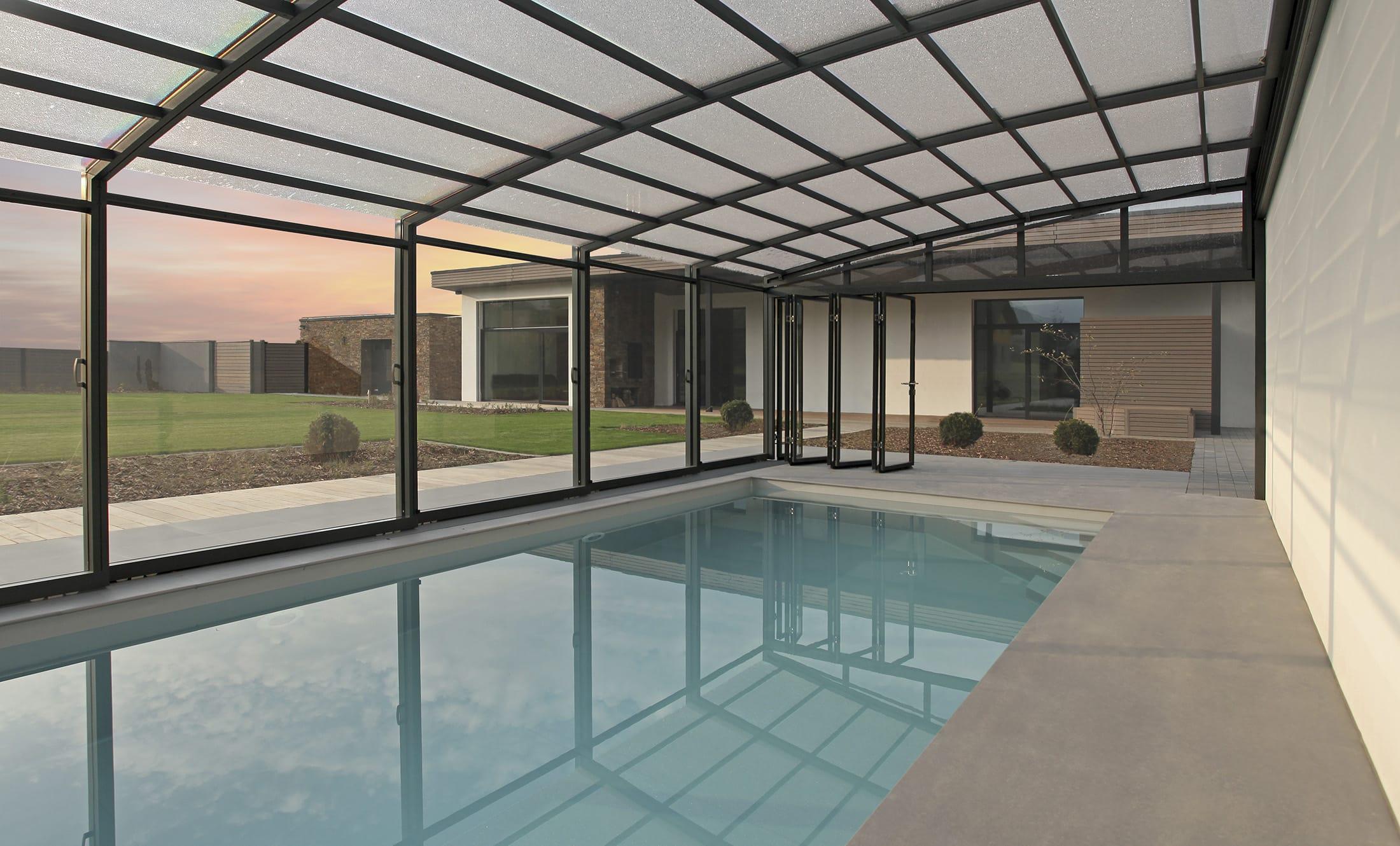 POPP Zastřešení bazénu Prestige P6