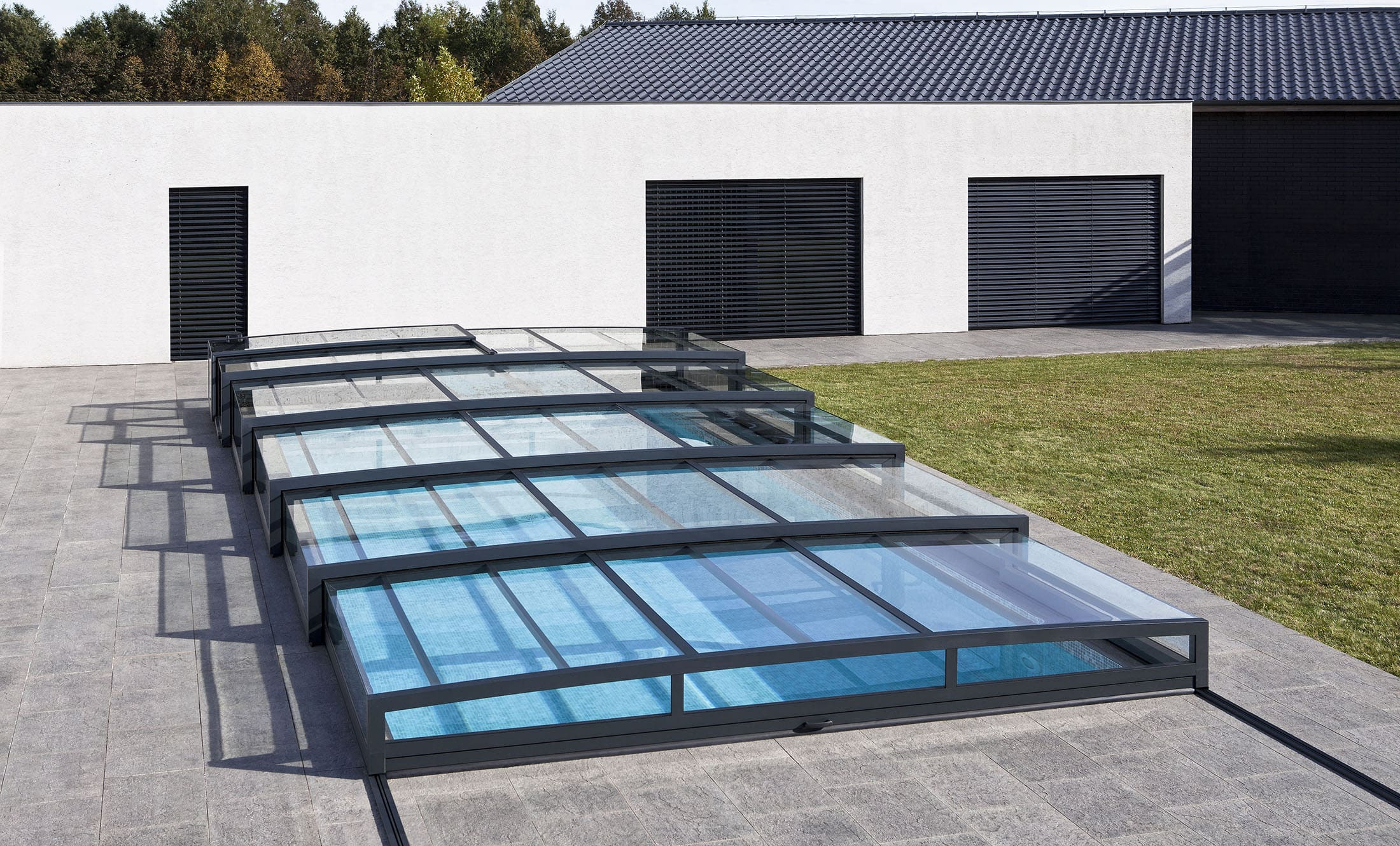POPP Pool enclosures PRESTIGE P8