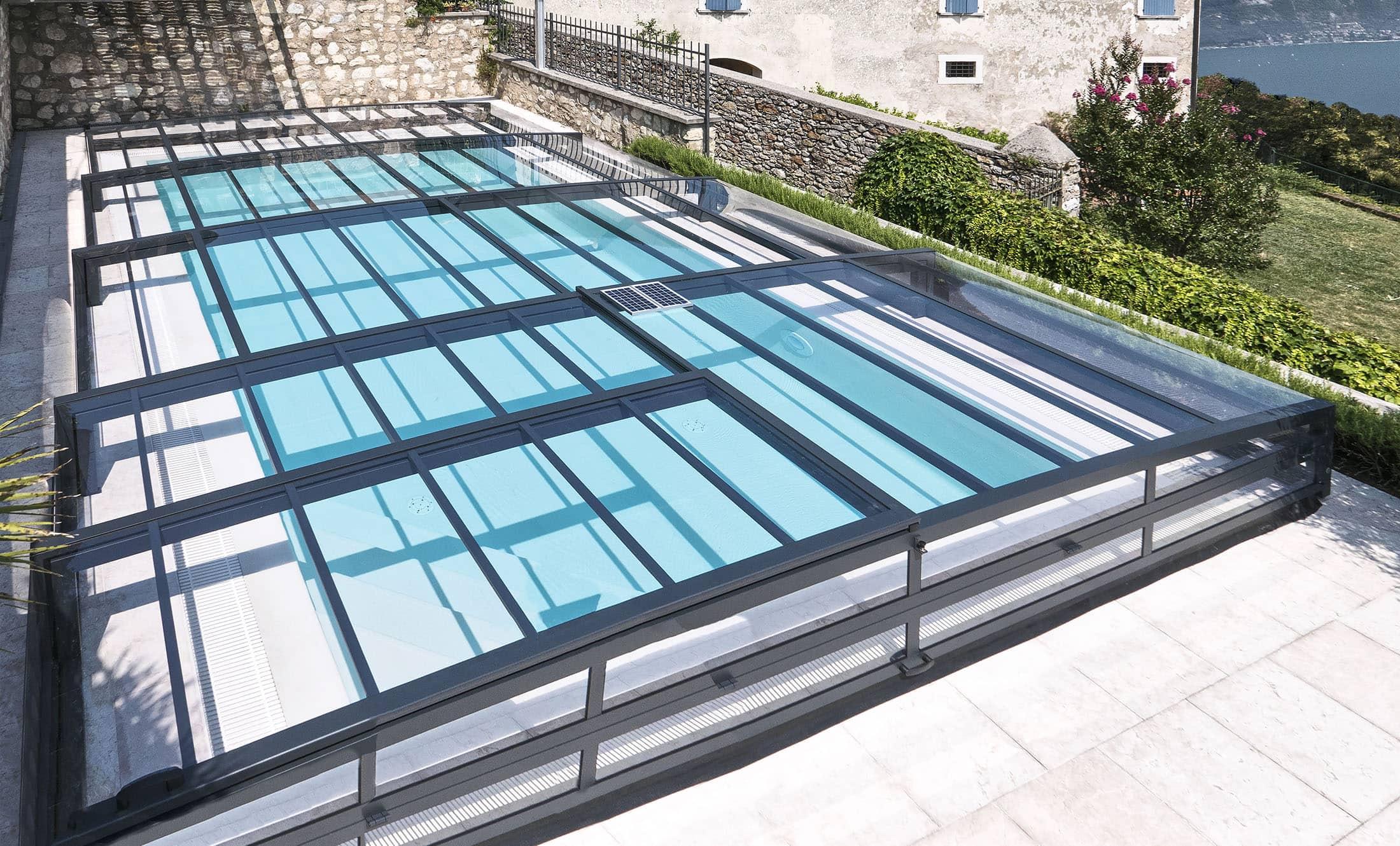 POPP Zastřešení bazénu Prestige P8