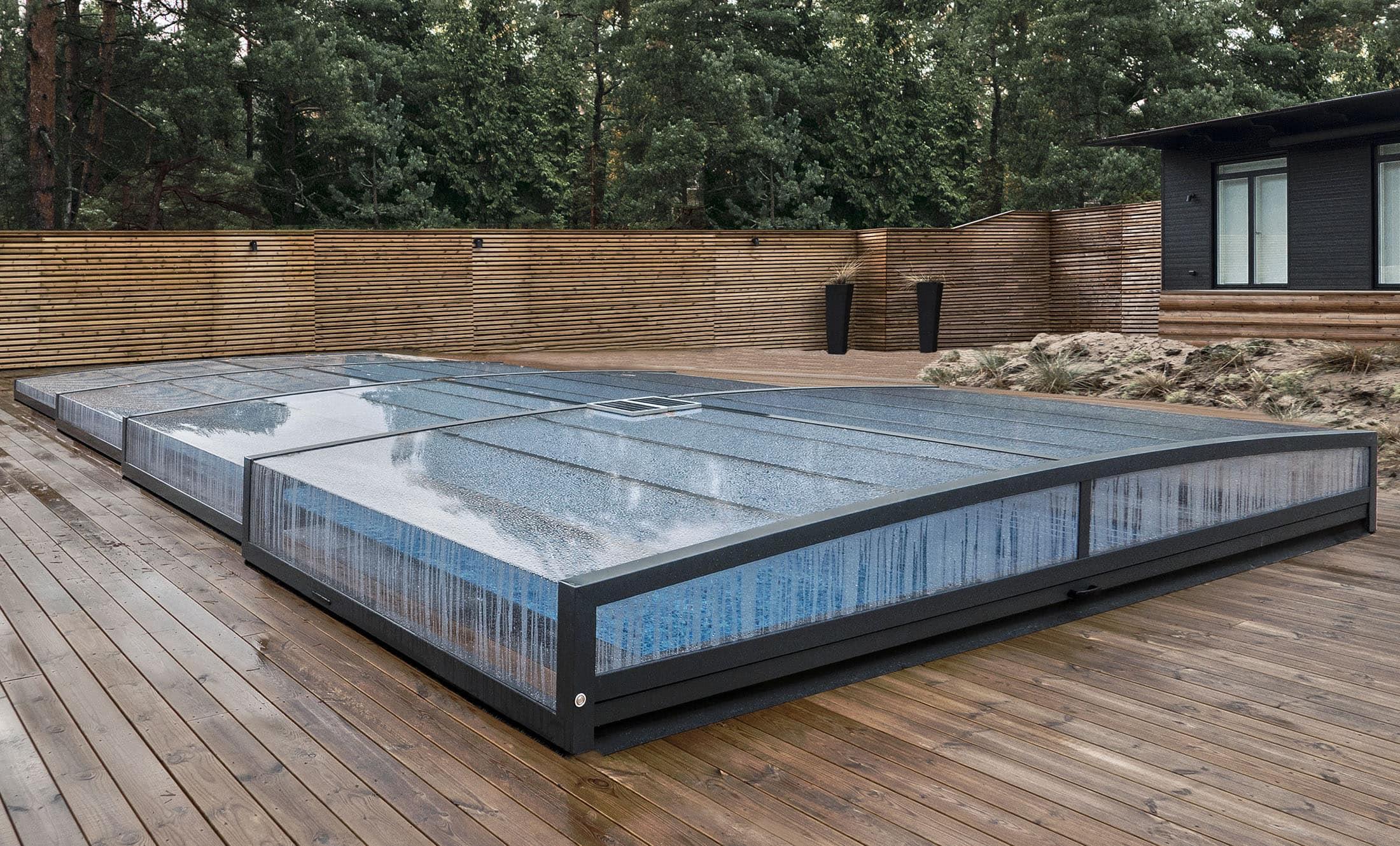 POPP Zastřešení bazénu Prestige P9